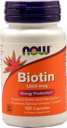 NOW  Biotin Perspective: front