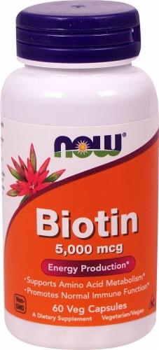 NOW Foods  Biotin Perspective: front