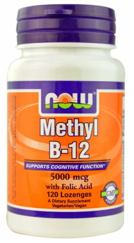 NOW Foods  Methyl B12 Perspective: front