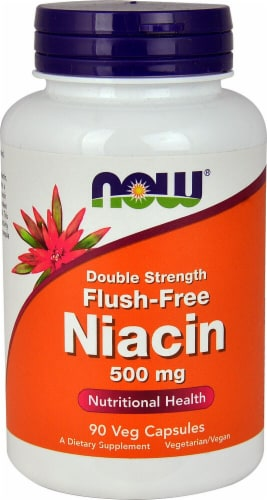 NOW Foods  Niacin Flush-Free Perspective: front