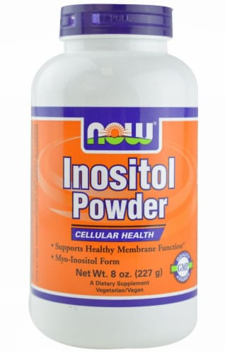 NOW Foods  Inositol Powder Perspective: front