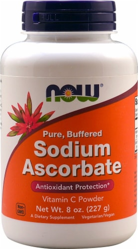 NOW Foods  Sodium Ascorbate Perspective: front