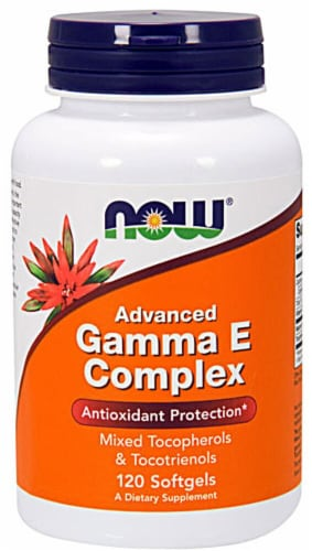 NOW Foods  Advanced Gamma E Complex Perspective: front
