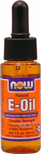 NOW Foods Natural E-Oil Perspective: front