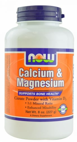 NOW Foods  Calcium & Magnesium Perspective: front