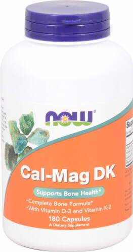NOW Foods  Cal-Mag DK Perspective: front