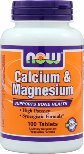NOW   Calcium & Magnesium Perspective: front