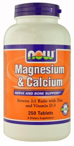 NOW   Magnesium & Calcium Perspective: front