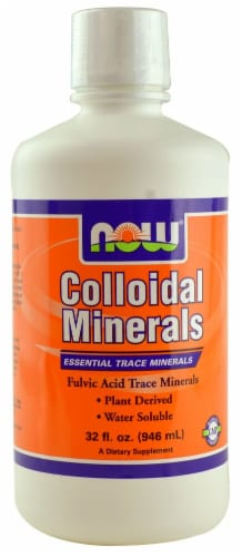 NOW   Colloidal Minerals Perspective: front