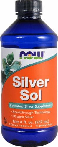 NOW Foods  Silver Sol Perspective: front