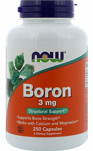 NOW Foods  Boron Perspective: front
