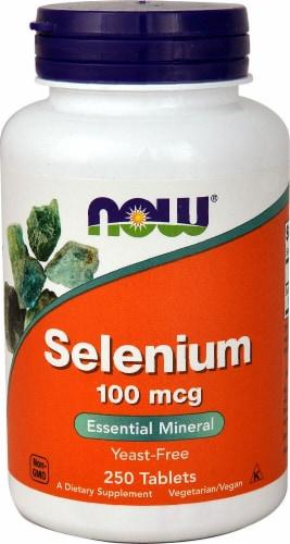 NOW Foods  Selenium Perspective: front