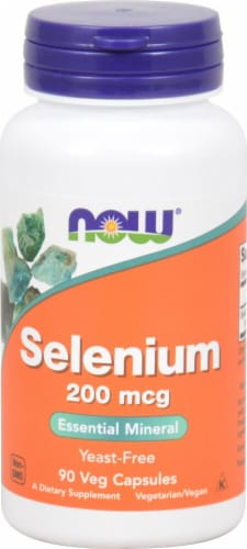 NOW Foods  Selenium Perspective: front