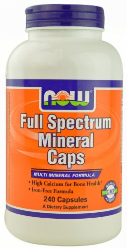 NOW   Full Spectrum Mineral Caps Perspective: front