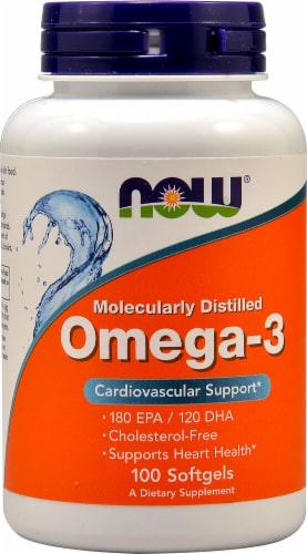 NOW  Omega-3 Perspective: front