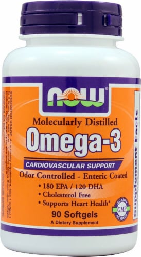 NOW Foods  Omega-3 Perspective: front
