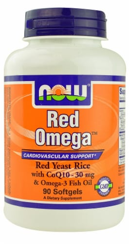 NOW Foods  Red Omega™ Perspective: front