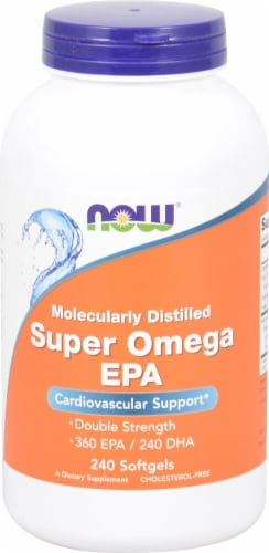 NOW Foods  Super Omega EPA Perspective: front
