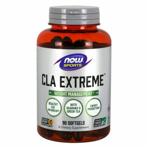 NOW Foods NOW Sports CLA Extreme Weight Management Softgels Perspective: front