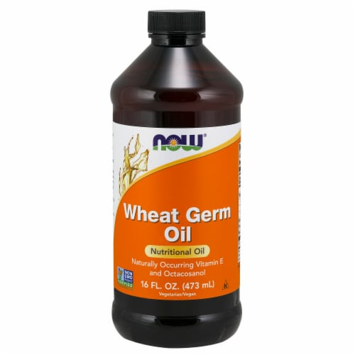 NOW Foods Wheat Germ Oil Nutritional Oil Perspective: front