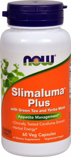 NOW Foods  Slimaluma® Plus Perspective: front