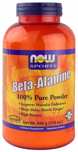 NOW Foods  Sports Beta-Alanine Powder Perspective: front