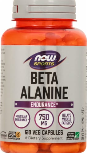 NOW Foods  Sports Beta-Alanine Capsules Perspective: front