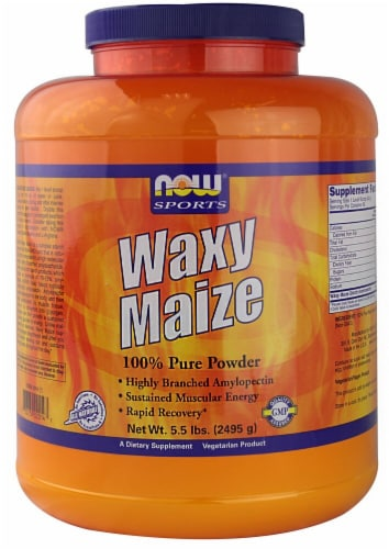 NOW   Sports Waxy Maize Perspective: front
