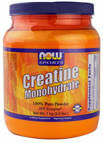 NOW   Sports Creatine Monohydrate Perspective: front