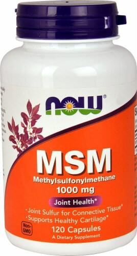NOW   MSM Methylsulphonylmethane Perspective: front