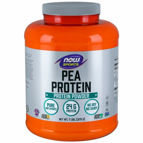 NOW Foods NOW Sports Pea Protein Powder Perspective: front
