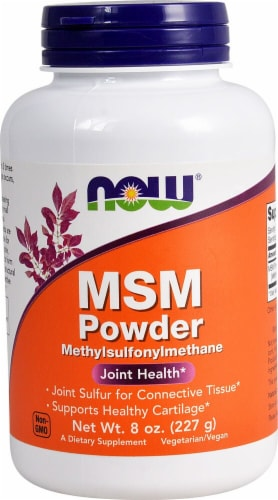NOW Foods  MSM Powder Perspective: front