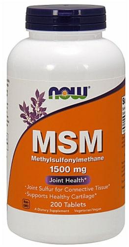 NOW Foods  MSM Methylsulphonylmethane Perspective: front