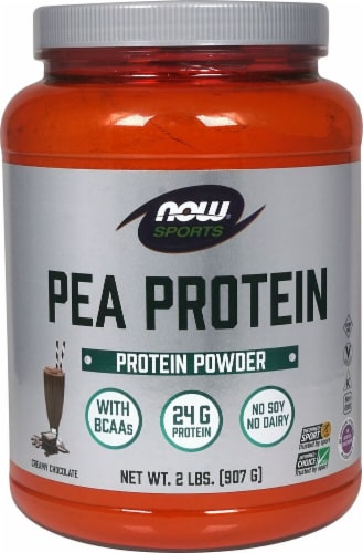 NOW Sports Pea Protein   Creamy Chocolate Perspective: front