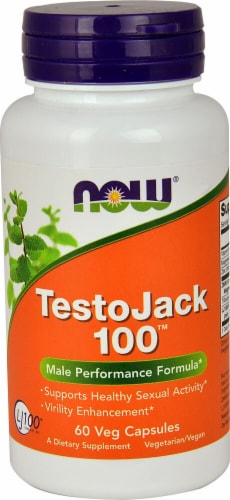 NOW Foods  TestoJack 100™ Perspective: front