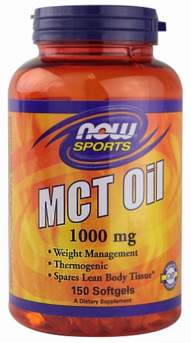NOW   Sports MCT Oil Perspective: front