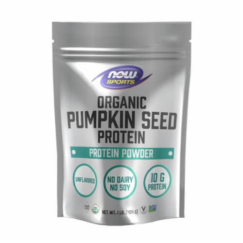 Now Sports Organic Pumpkin Seed Protein Powder Perspective: front