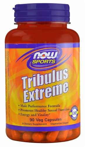 NOW Foods  Sports Tribulus Extreme Perspective: front
