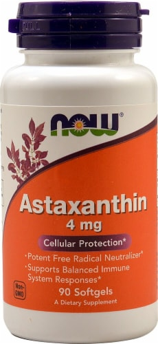 NOW  Astaxanthin Perspective: front