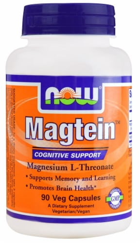 NOW Foods  Magtein Perspective: front