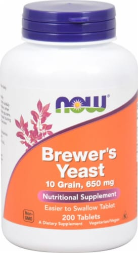 NOW Foods  Brewer's Yeast Perspective: front