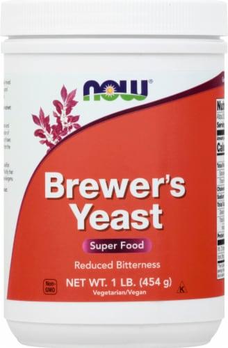 NOW Foods Vegan Super Food Brewer's Yeast Perspective: front