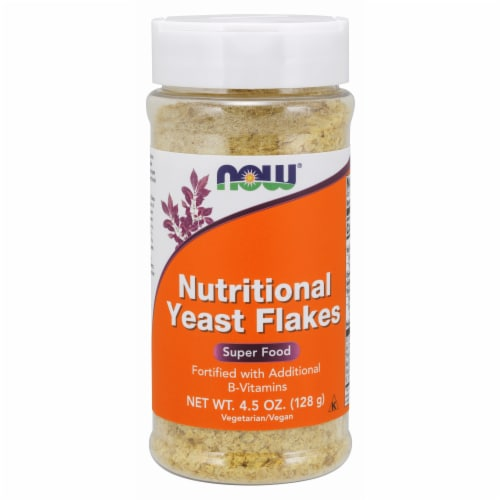 Now Super Food Nutritional Yeast Flakes Perspective: front
