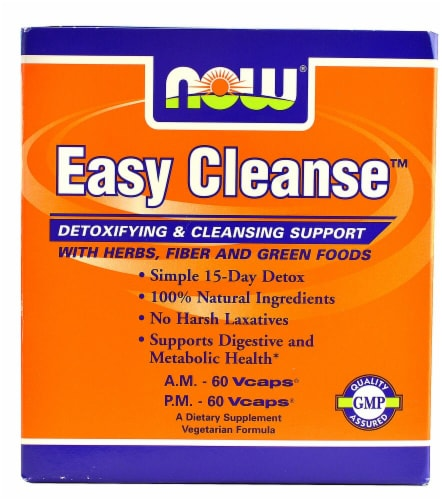 NOW Easy Cleanse™ Perspective: front