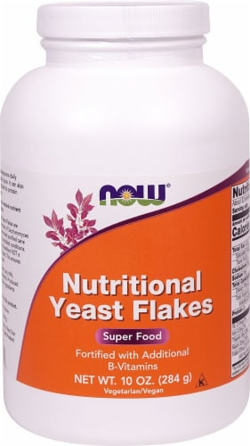 NOW Foods Nutritional Yeast Flakes Perspective: front