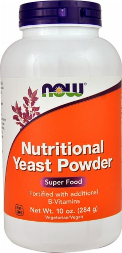 NOW Foods Nutritional Yeast Powder Perspective: front