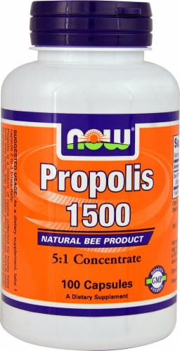 NOW Foods  Propolis 1500 Perspective: front