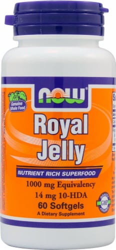 NOW Foods  Royal Jelly Perspective: front