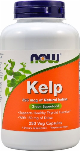 NOW Foods  Kelp Perspective: front