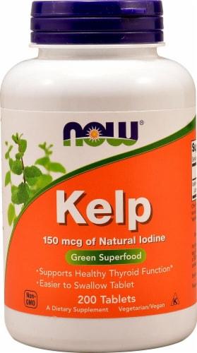 NOW Foods  Kelp Perspective: front